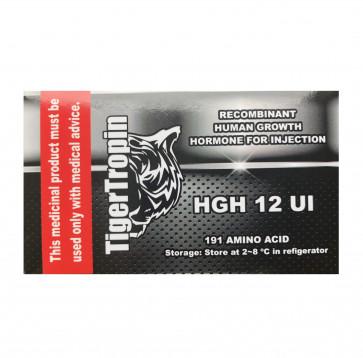 HGH - GH - Somatropin - TigerTropin - 120 ui (10 ampolas)