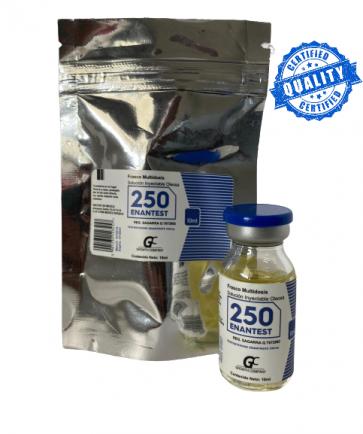 Enantato de Testosterona - Growth Company - Ciclo 6 - 250mg (10ml)
