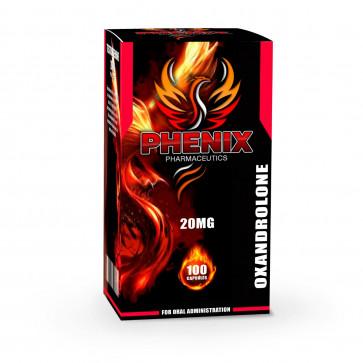 Oxandrolona - Phenix Pharmaceutics - 20mg (100caps)