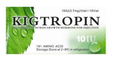 HGH - GH - Somatropin - Kigtropin - 100ui (10 ampolas)