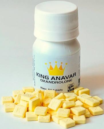 Oxandrolona - King Pharma 10mg (50caps)