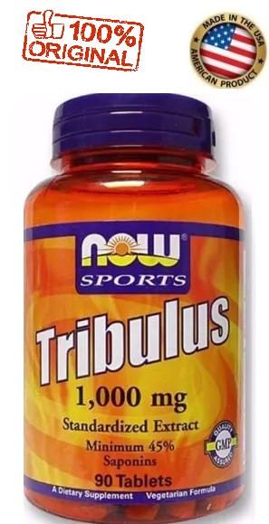 Tribulus Terrestris - 1000mg - Now Sports - 90 cápsulas