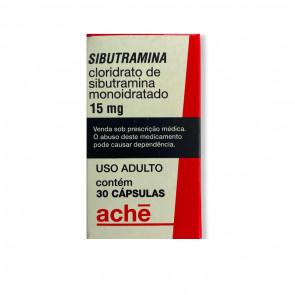 Cloridrato de Sibutramina / Sibutramina - Ache - 15mg (30Comp)