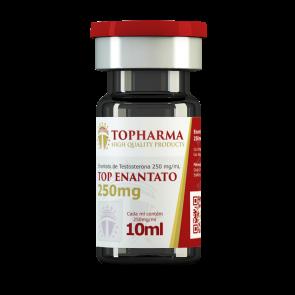Enantato de Testosterona - Topharma - Ciclo 6 - 250mg (10ml)