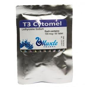 T3 Cytomel - Muscle Pharma - 100mcg - 50 caps